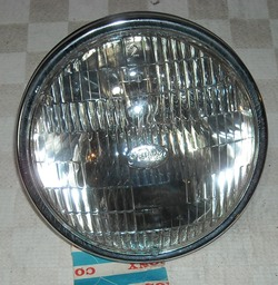 NOS right front headlight assembly