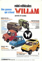 Willam sales sheet